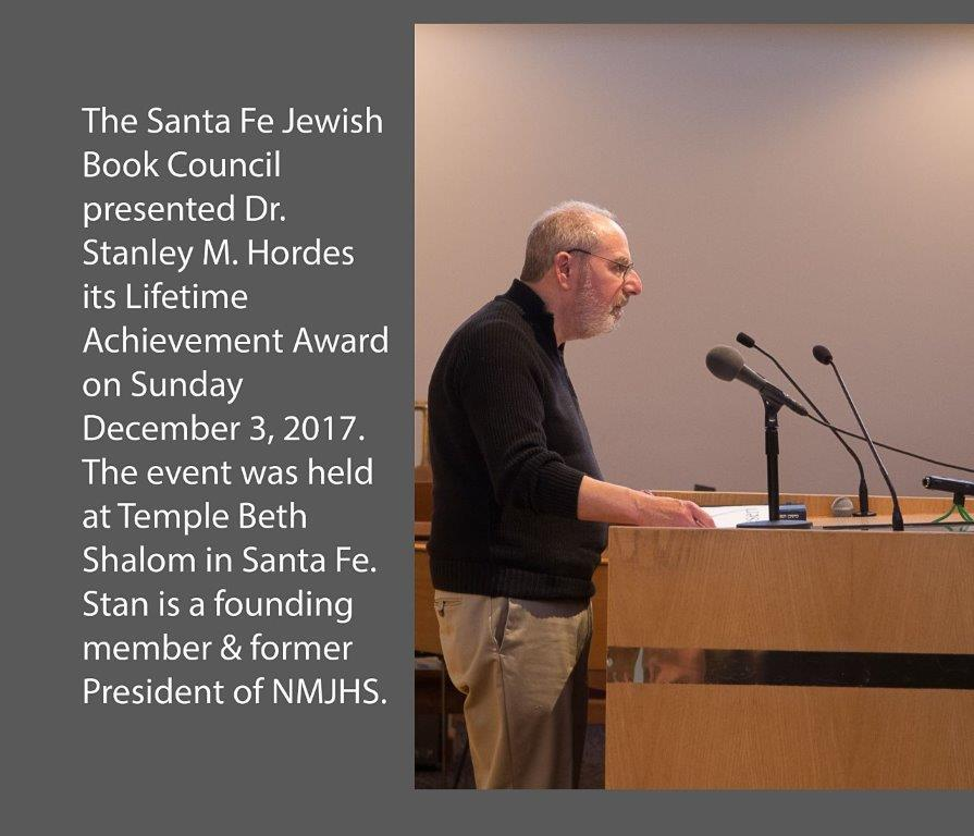 2017 SFJBC Award to Stan Hordes (1 of 14)